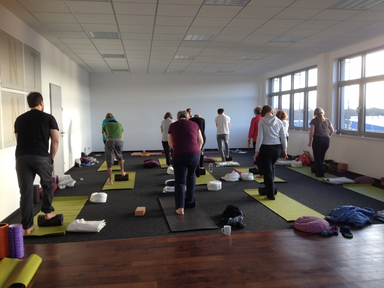 Yin Yoga & Yoga Nidra Workshop in der Printarena