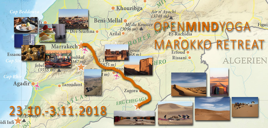 copyright Kerstin Hilgers, Openmindyoga, Yoga, Meditation, Mantra, Daniela Dragan, Marokko, Wüste, Sahara, Caravane de Reve, Tourdaten