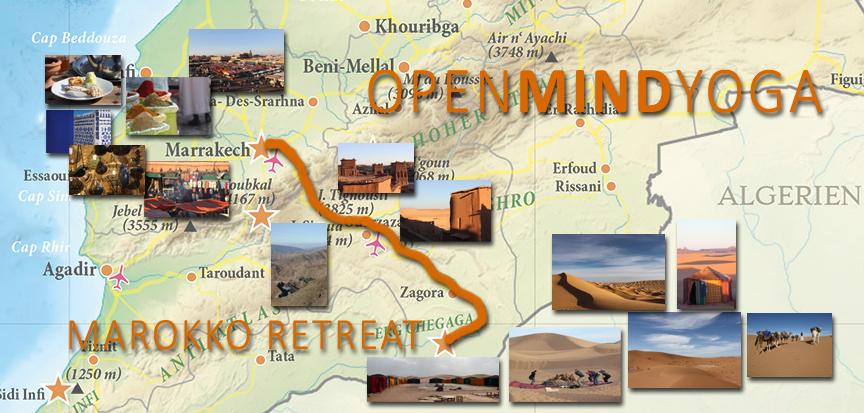 copyright Kerstin Hilgers, Openmindyoga, Yoga, Meditation, Mantra, Daniela Dragan, Marokko, Wüste, Shoshan, Sahara, Caravane de Reve, Tourdaten