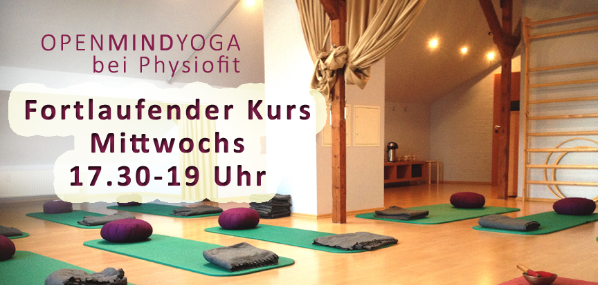 OPENMINDYOGA, physiofit, Kerstin Hilgers, Yoga, Entspannung, Yoga Nidra