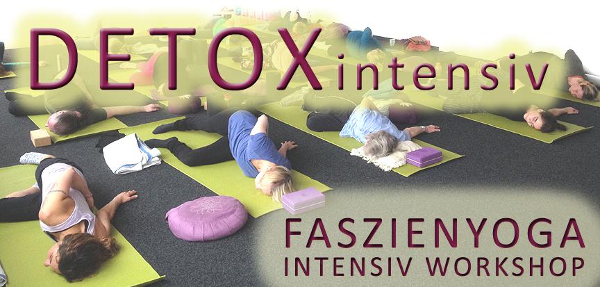 Detox Workshop. OPENMINDYOGA, Faszienyoga, Yoga Nidra, Daniela Dragan, Kerstin Hilgers, Workshop am 12.1.2020 von 10-13 Uhr in der Printarena