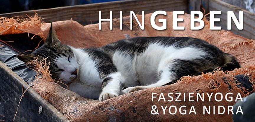 HINGEBEN, Yin Yoga, Faszienyoga, Yoga Nidra, Daniela Dragan und Kerstin Hilgers, OPENMINDYOGA