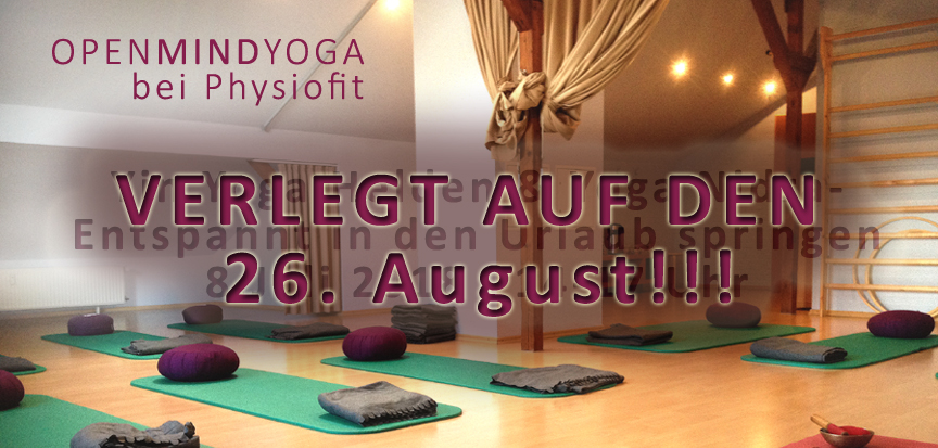 OPENMINDYOGA Sommerworkshop bei Physiofit Sülfeld, Yin Yoga, Yoga Nidra, Kerstin Hilgers